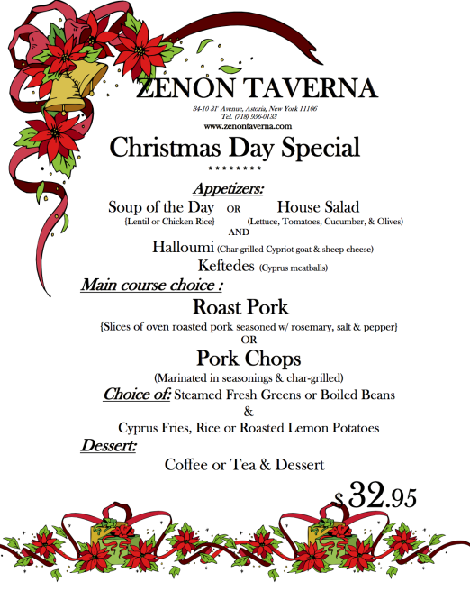 Zenon Taverna_Xmas Day Dinner