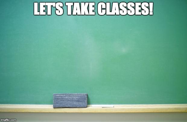 classes-blackboard