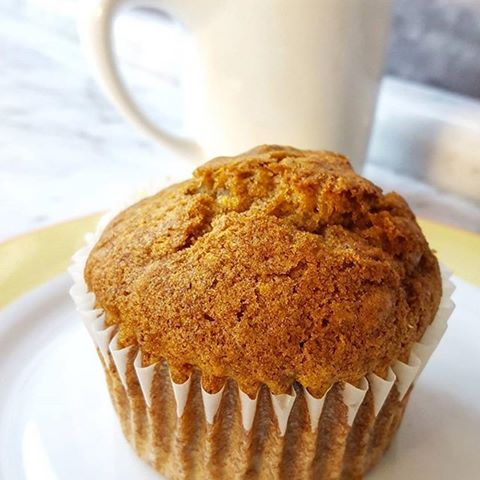Pumpkin muffins from Aloria Cakes? Yes, please!