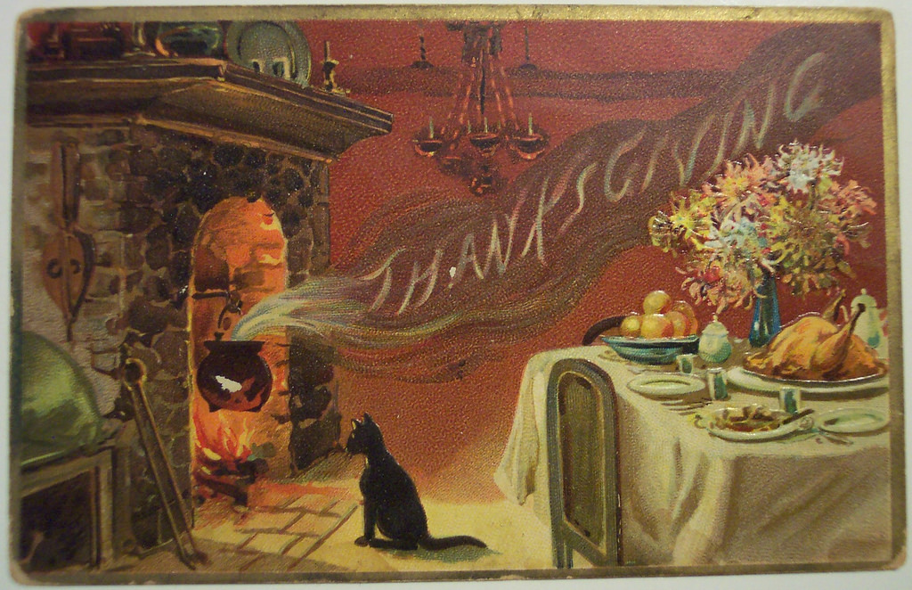 thanksgiving-cat-postcard