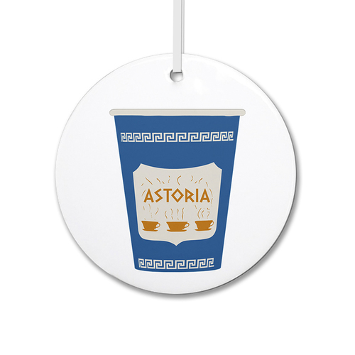 Anthora Coffee Cup Ornament