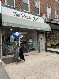 The Brass Owl Storefront