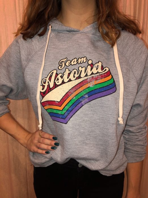 Team Astoria sweatshirt
