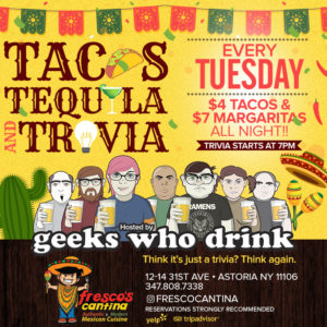 Tacos, Tequila, Trivia