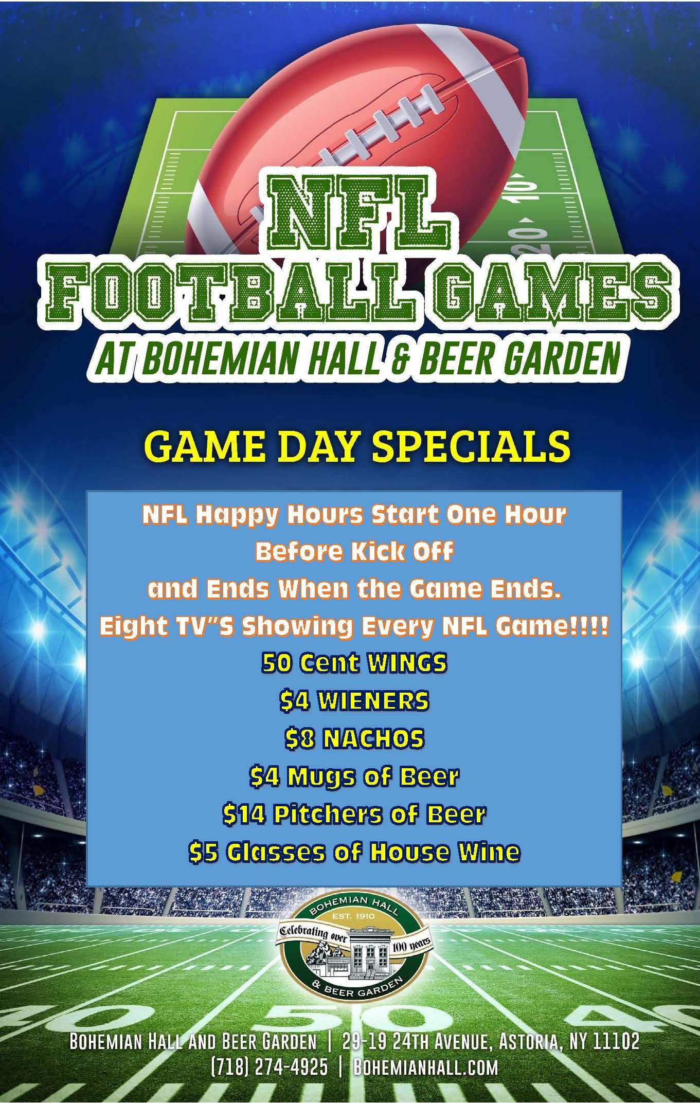 Bohemian Hall Super Bowl LIII